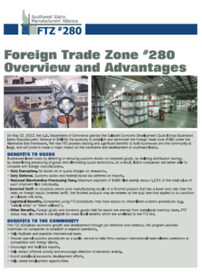 FTZ Brochure cover